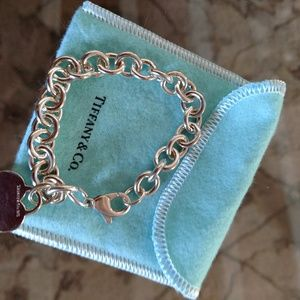 Return to Tiffany heart bracelet